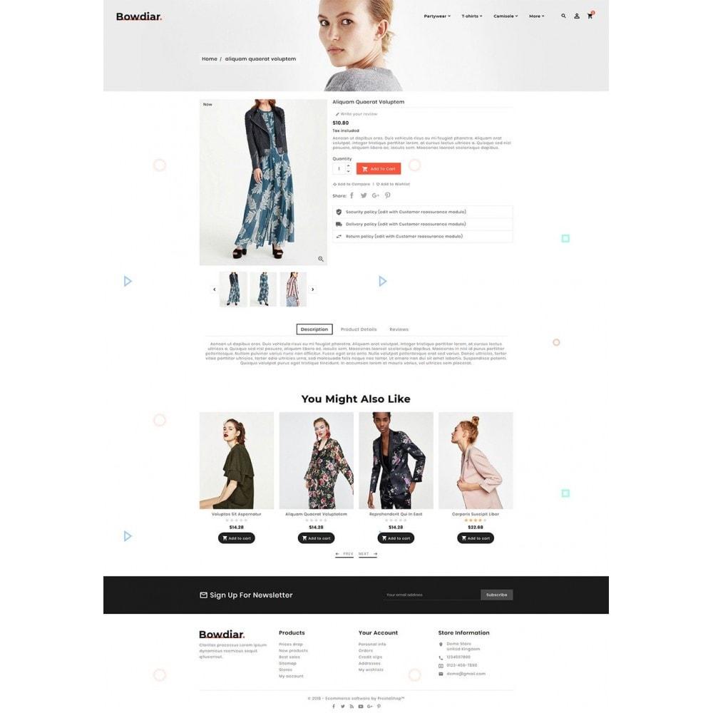 theme - Moda & Obuwie - Bowdiar Fashion & Floral Style - 5
