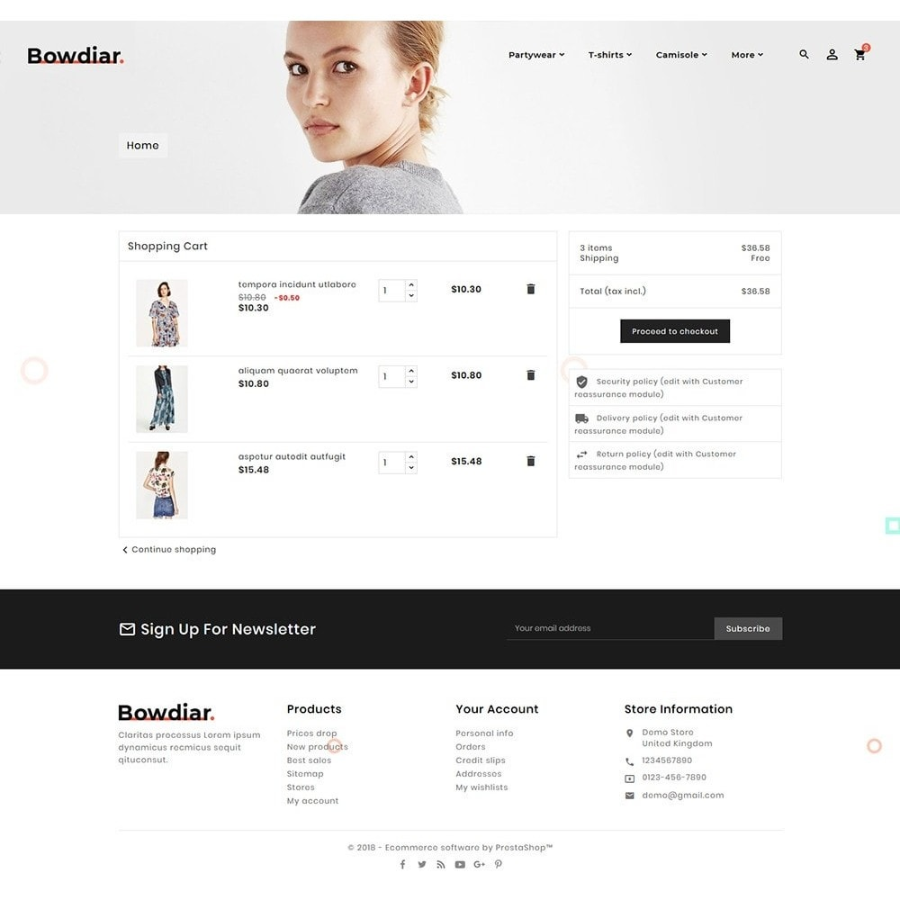 theme - Moda & Obuwie - Bowdiar Fashion & Floral Style - 6