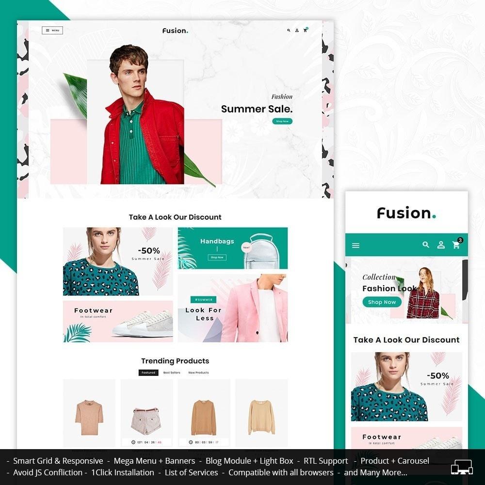 theme - Fashion & Shoes - Fashion Fusion - Floral Look - 1