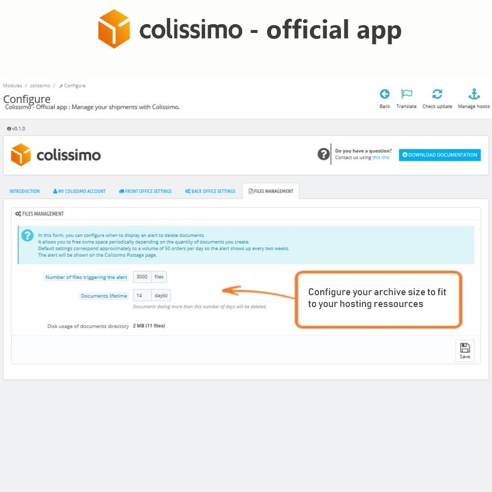 module - Corrieri - Colissimo - Official app: your shipments with Colissimo - 9