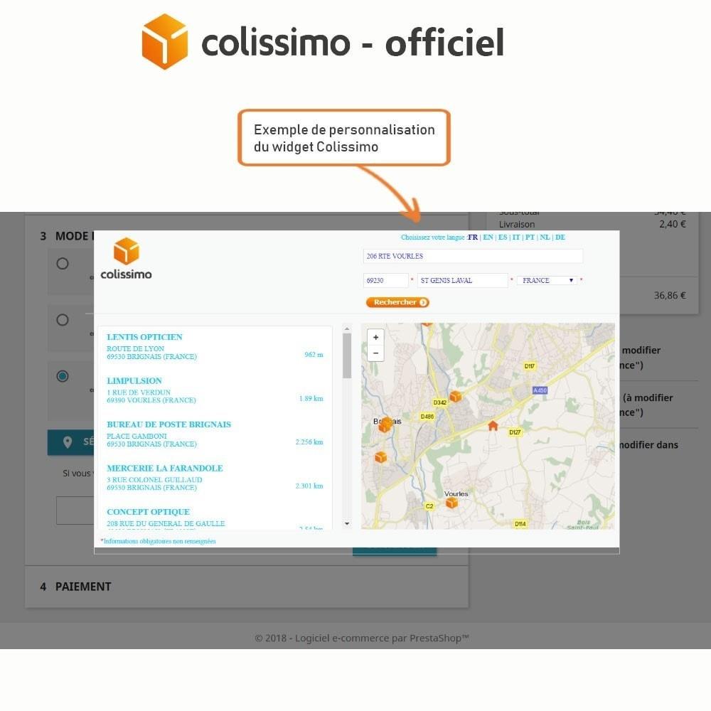 module - Transporteurs - Colissimo - Officiel : vos expéditions avec Colissimo - 6