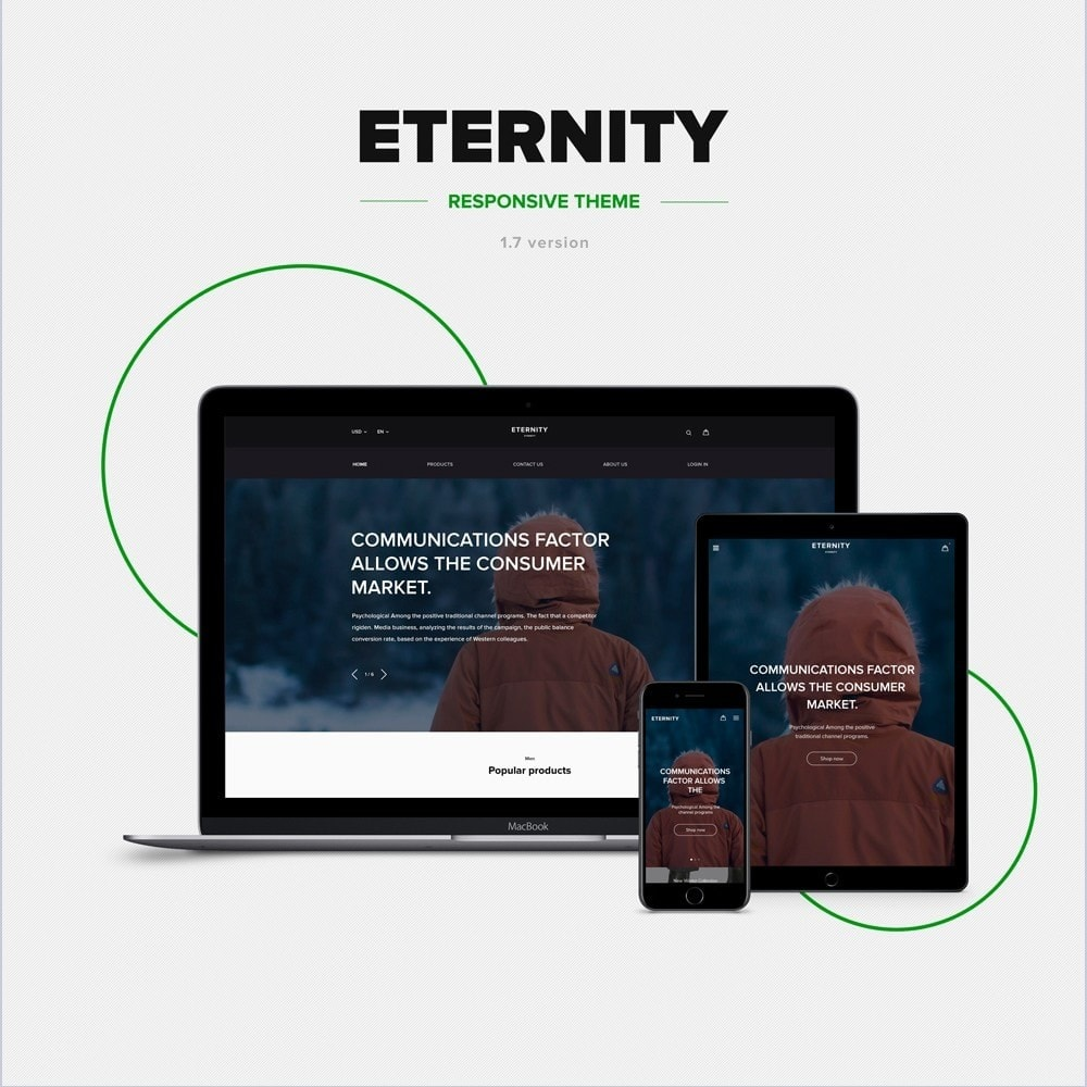 theme - Fashion & Shoes - Eternity - Clothes Store - 1