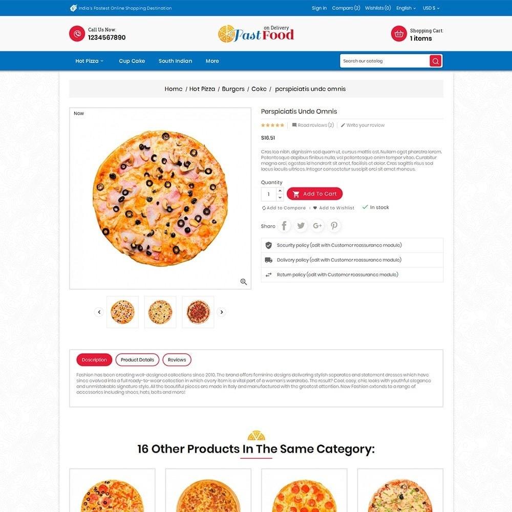 theme - Alimentos & Restaurantes - Pizza Fast Food - 8