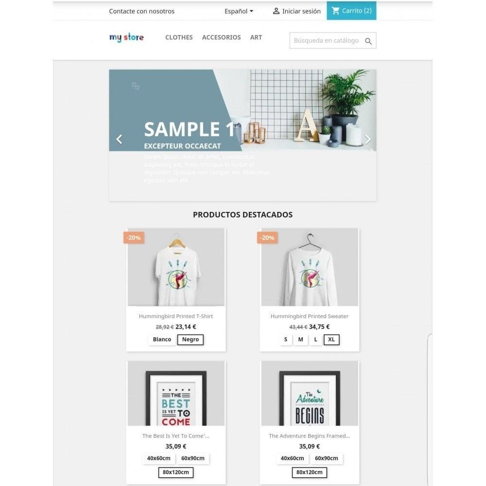 module - Combinaciones y Personalización de productos - Mostrar combinaciones en productos - 3