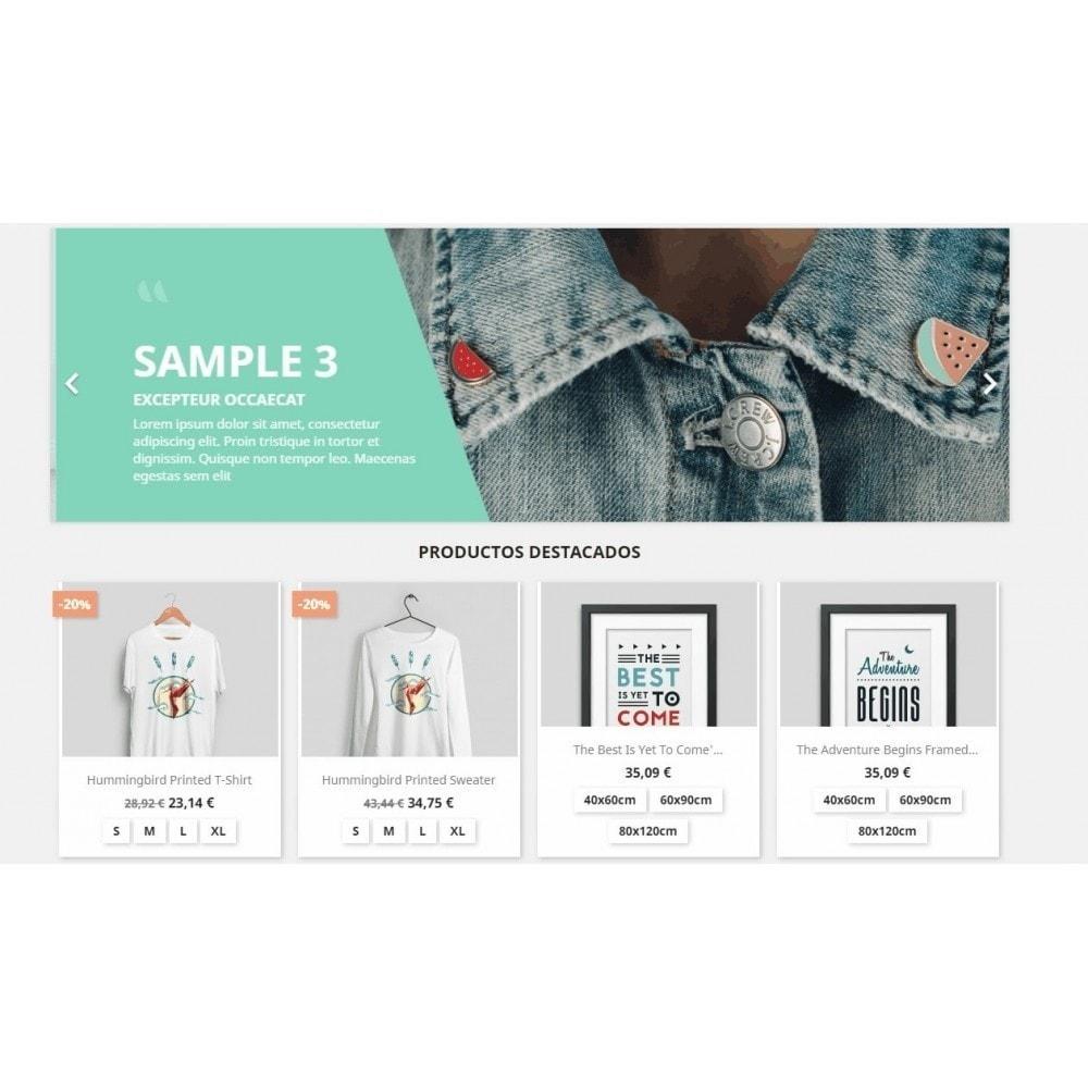 module - Combinaciones y Personalización de productos - Mostrar combinaciones en productos - 4