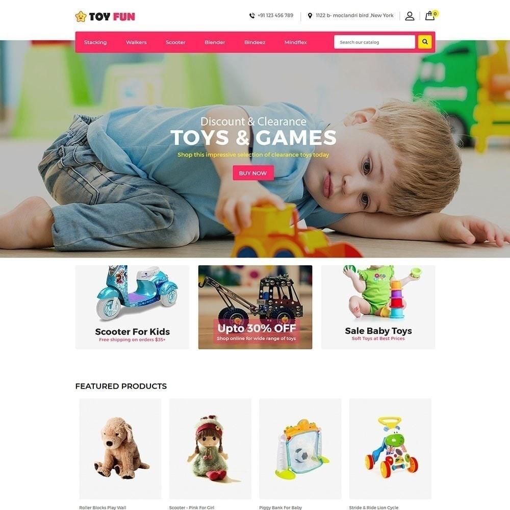 theme - Enfants & Jouets - Toy Fan - Magasin pour enfants - 1