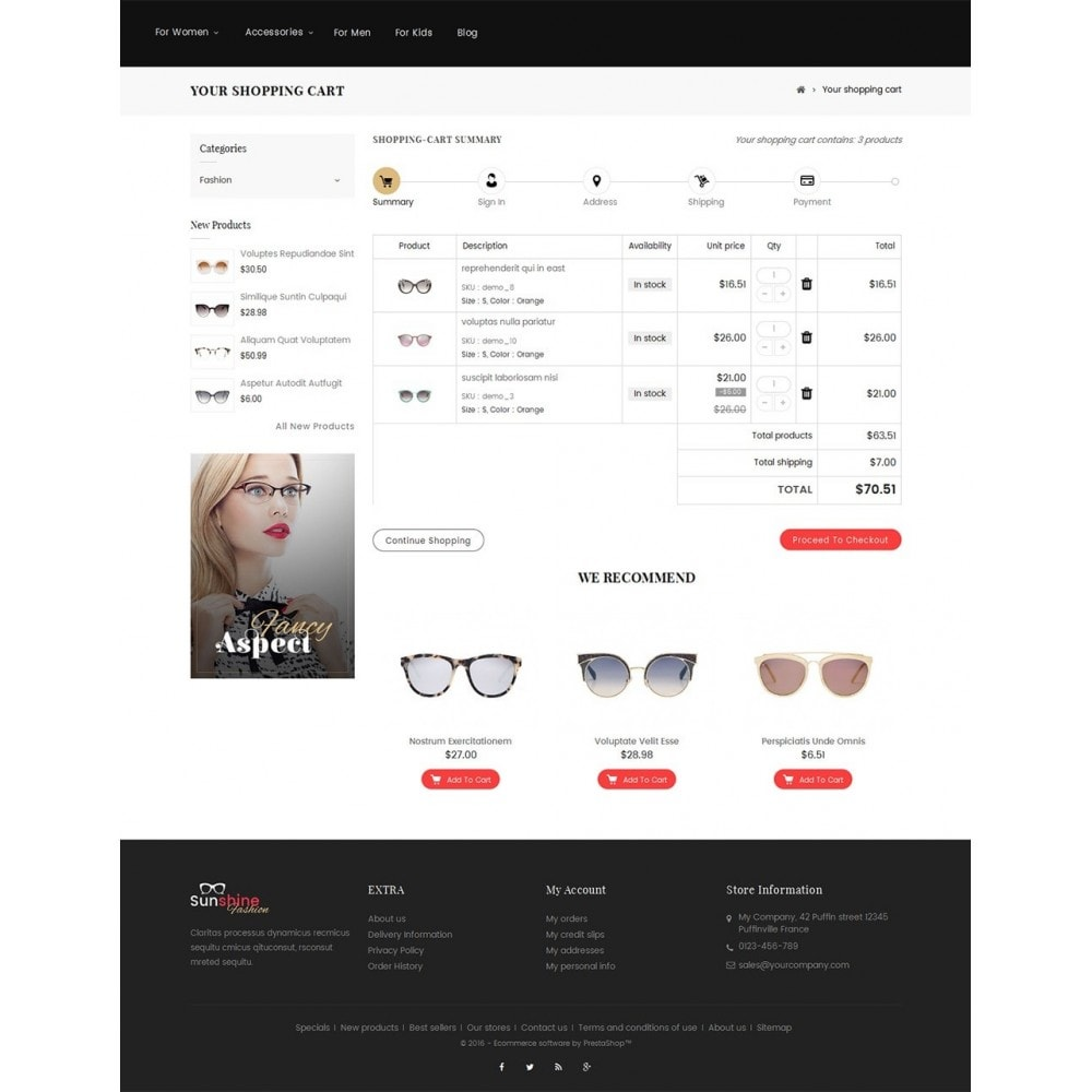 theme - Moda y Calzado - Sunshine - Goggles Store - 5