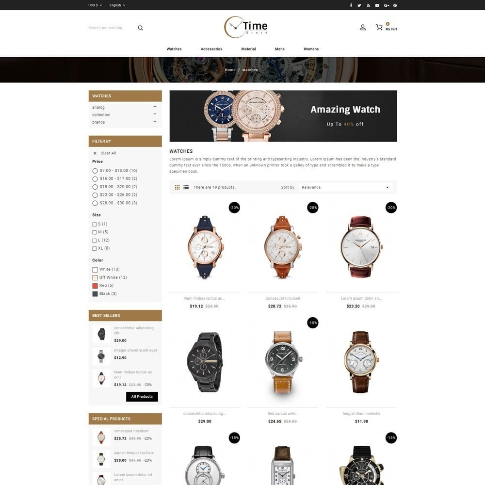 theme - Jewelry & Accessories - Time Store -Watch - 3