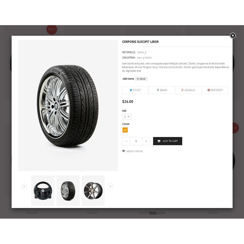 theme - Automotive & Cars - Auto Parts Store - 10