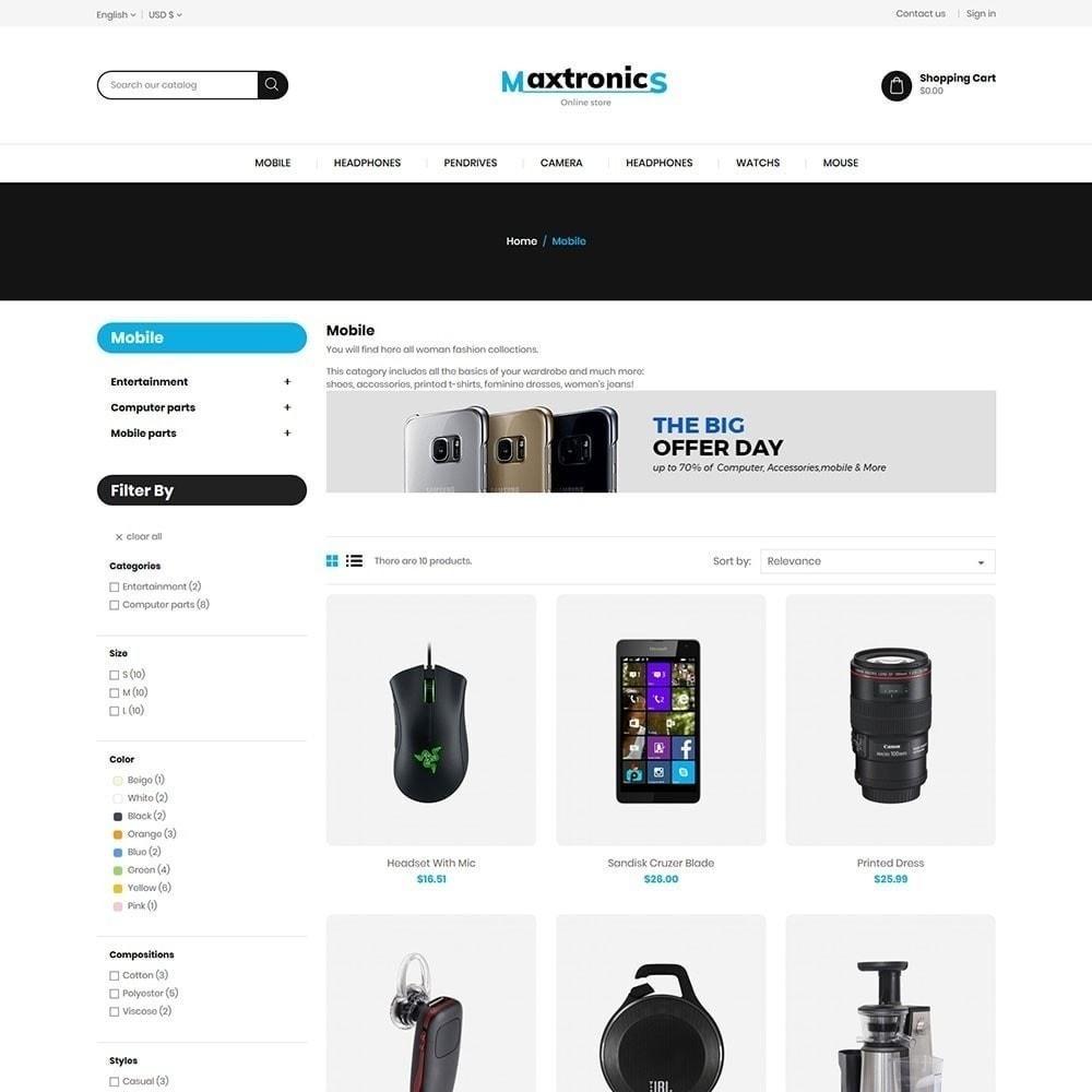 theme - Electronique & High Tech - Maxtronics Electronics Store - 3