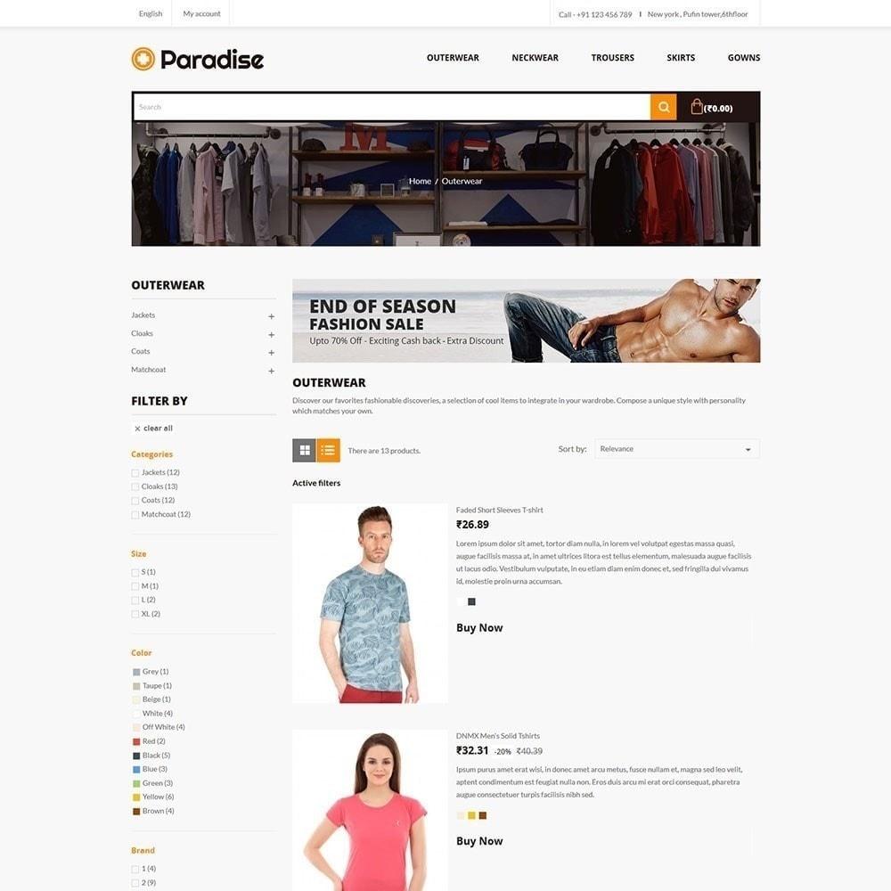 theme - Мода и обувь - Рай - Модный магазин - 4