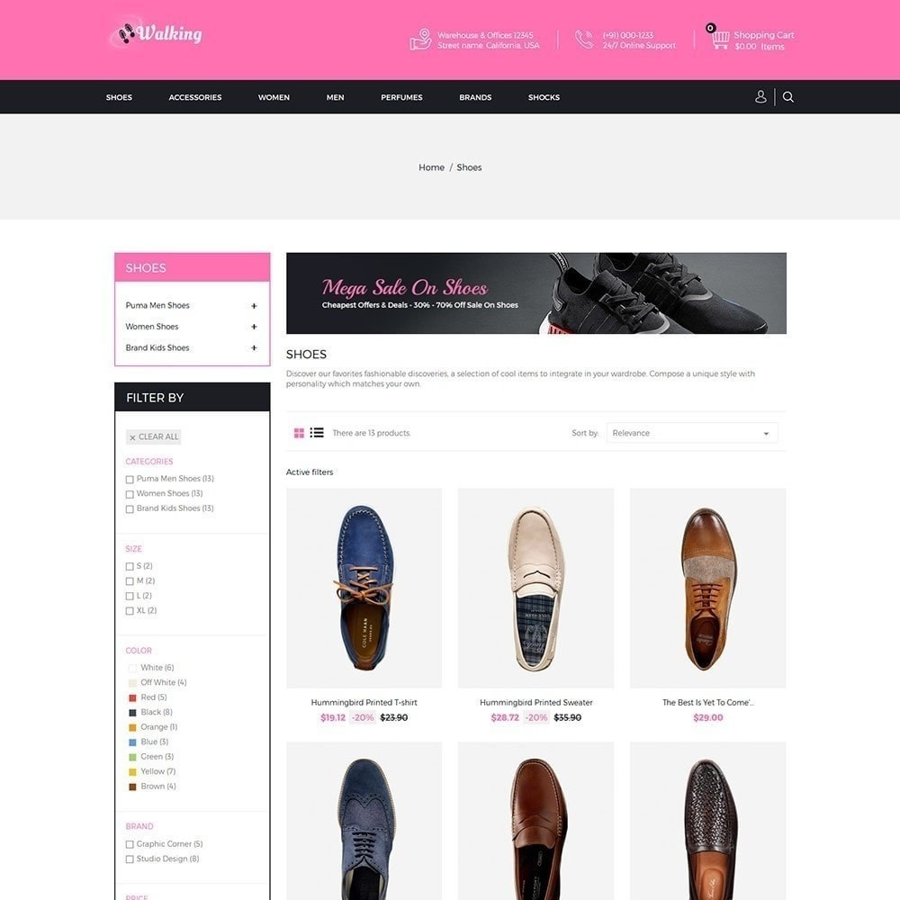 theme - Mode & Schoenen - Wandelen - Schoenenwinkel - 3