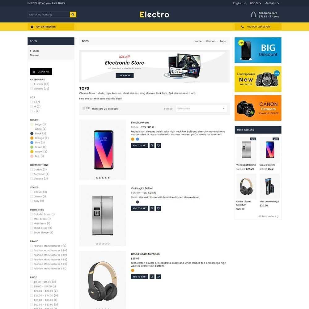 theme - Elettronica & High Tech - Electro Electronics Store - 4
