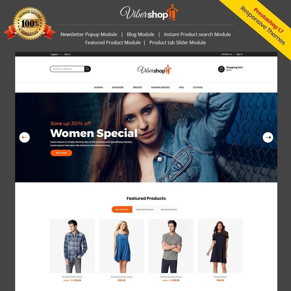 theme - Fashion & Shoes - Viber Fashion - Apparels Store - 1
