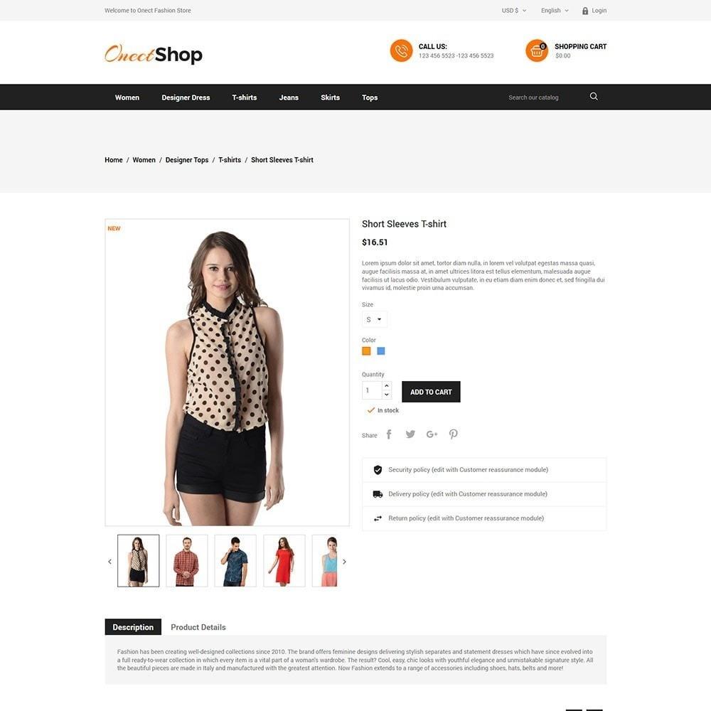 theme - Fashion & Shoes - Onect - Fashion Store - 5