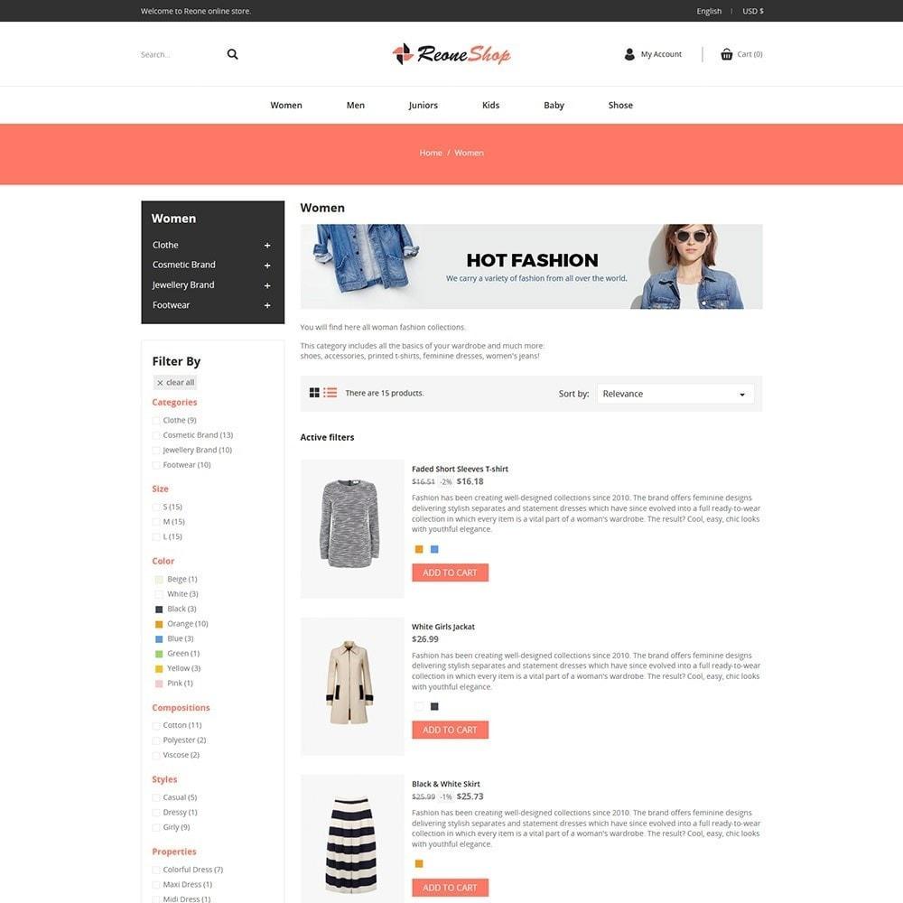 theme - Fashion & Shoes - Reone Fashion - Accessories Store - 4
