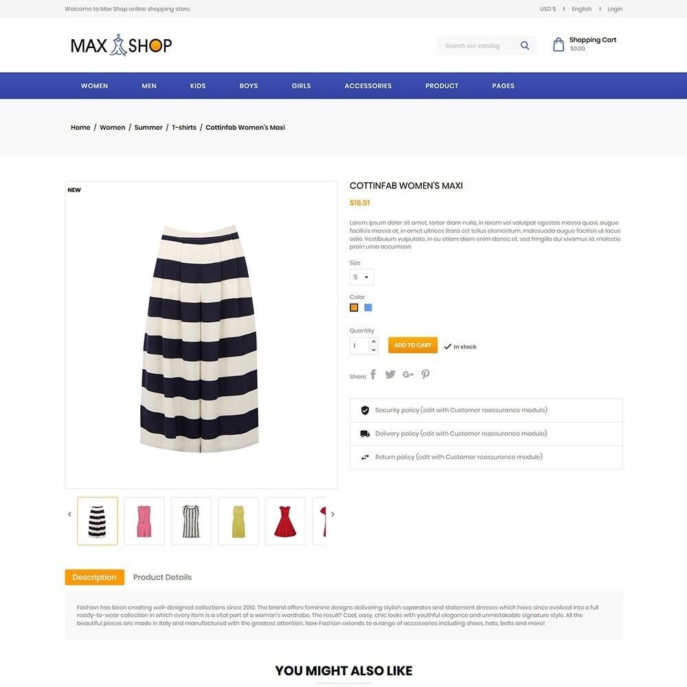 theme - Fashion & Shoes - Maxshop - Fashion Store - 5