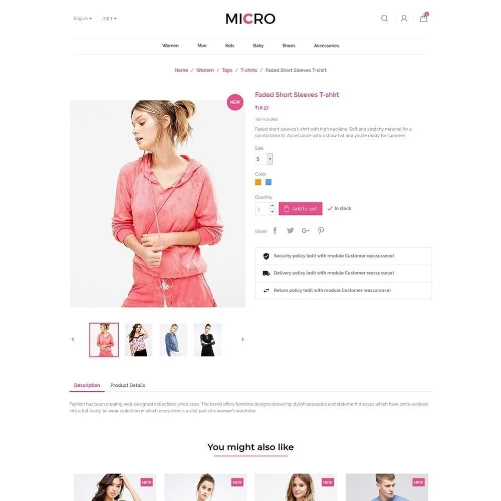 theme - Fashion & Shoes - Micro Fashion Store - 6