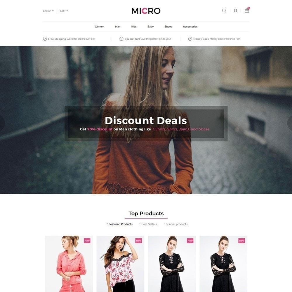 theme - Moda & Calçados - Loja de moda Micro - 2