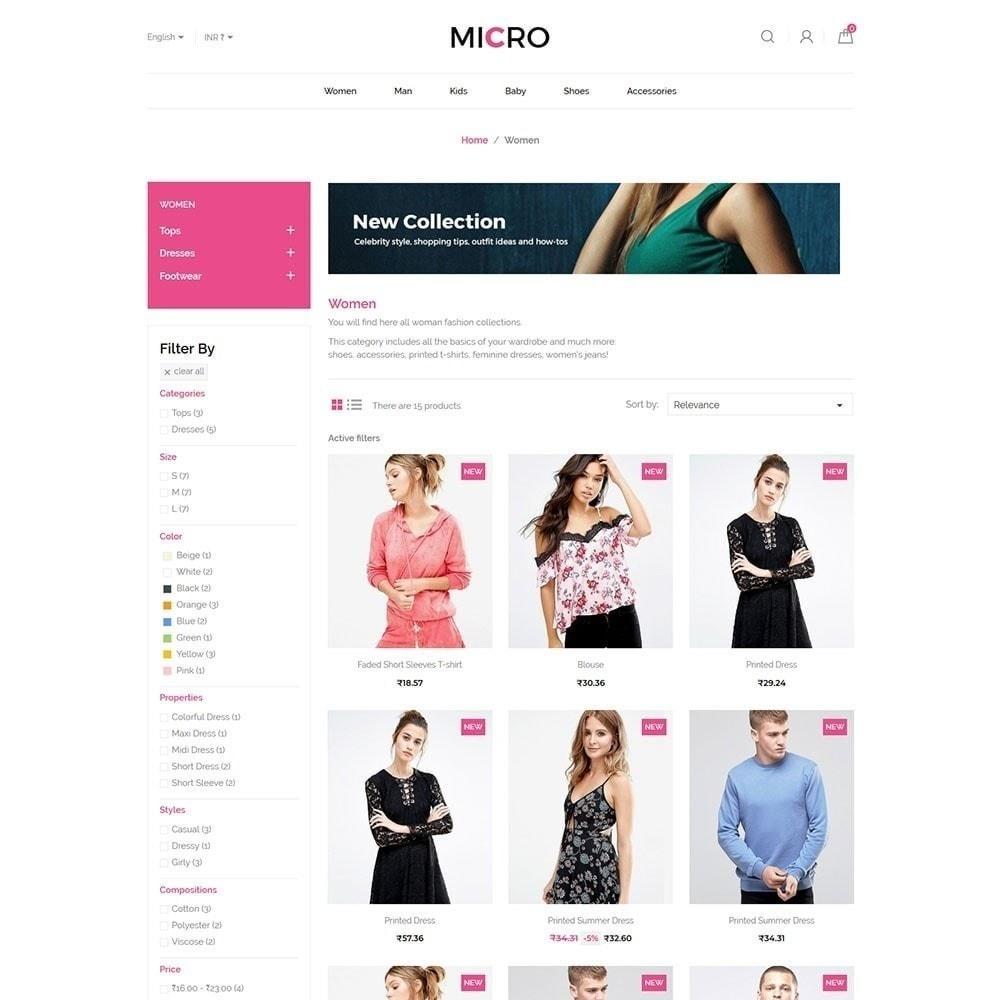 theme - Moda & Calçados - Loja de moda Micro - 3