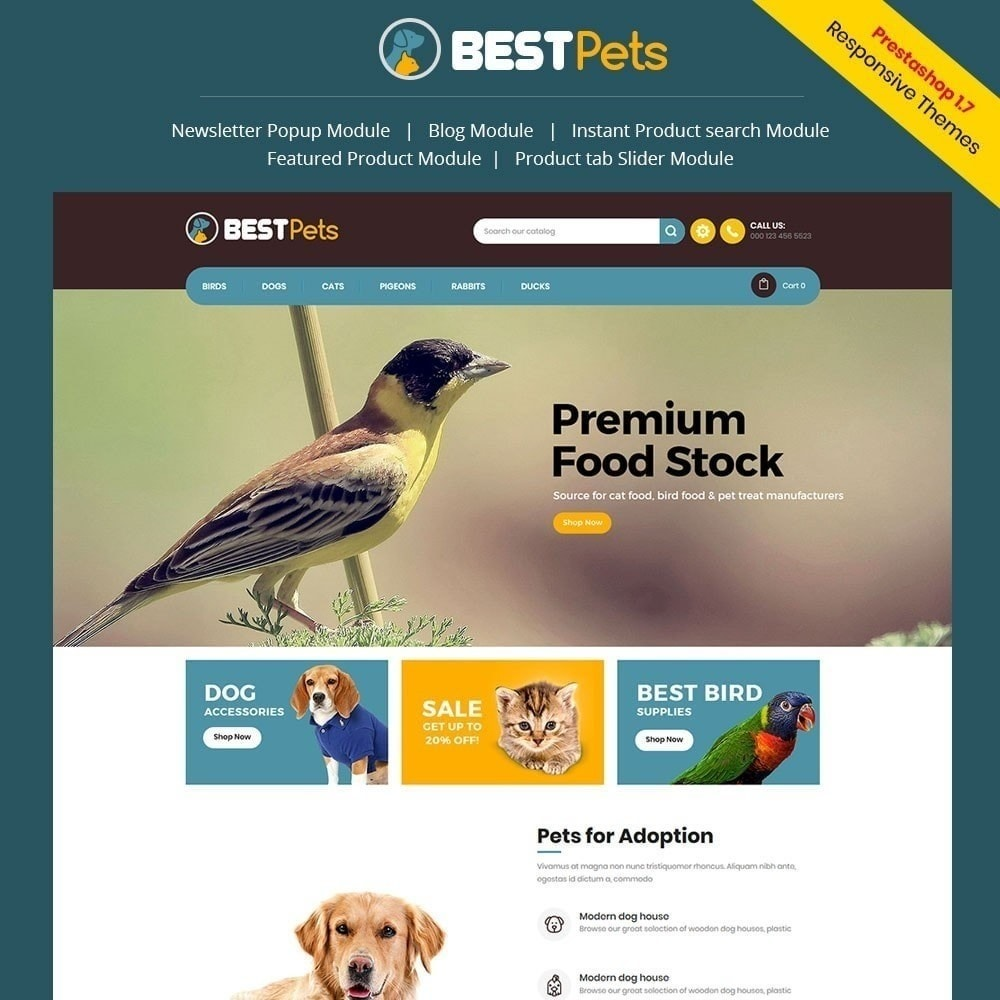 theme - Animali - Bestpet Pet Store - 1