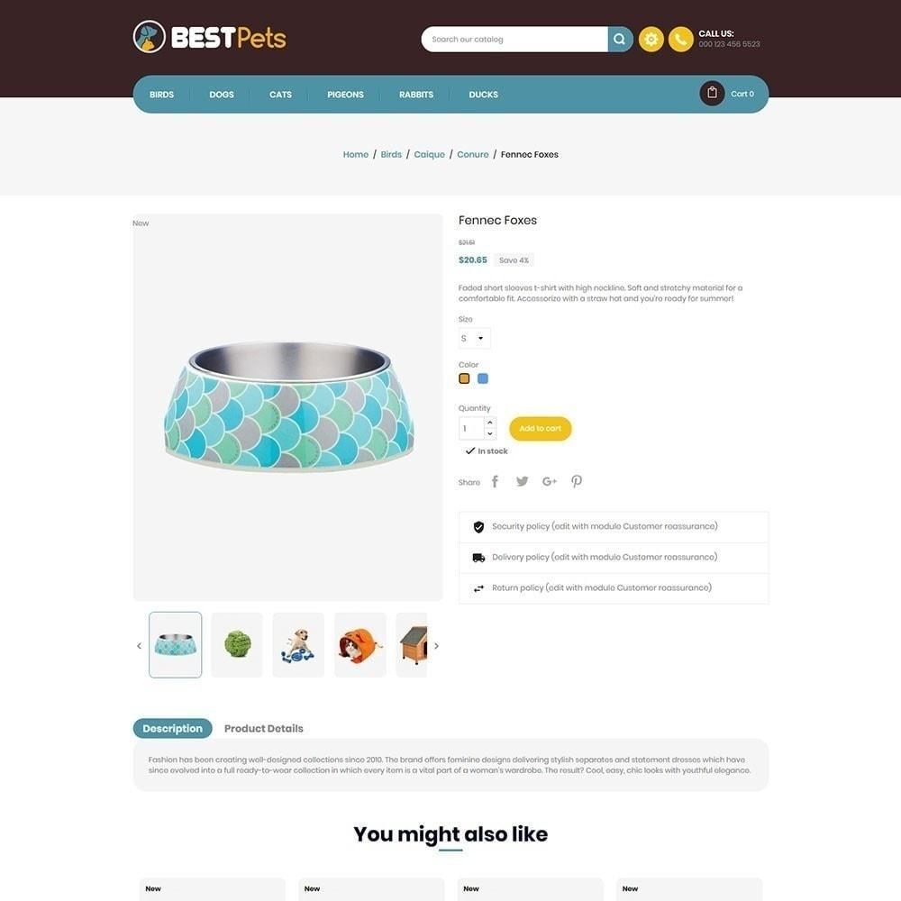 theme - Animals & Pets - Bestpet Pet Store - 4