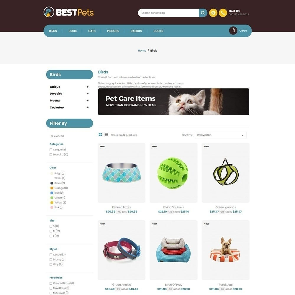 theme - Animals & Pets - Bestpet Pet Store - 5