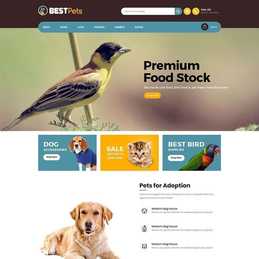 theme - Zwierzęta - Bestpet Pet Store - 6