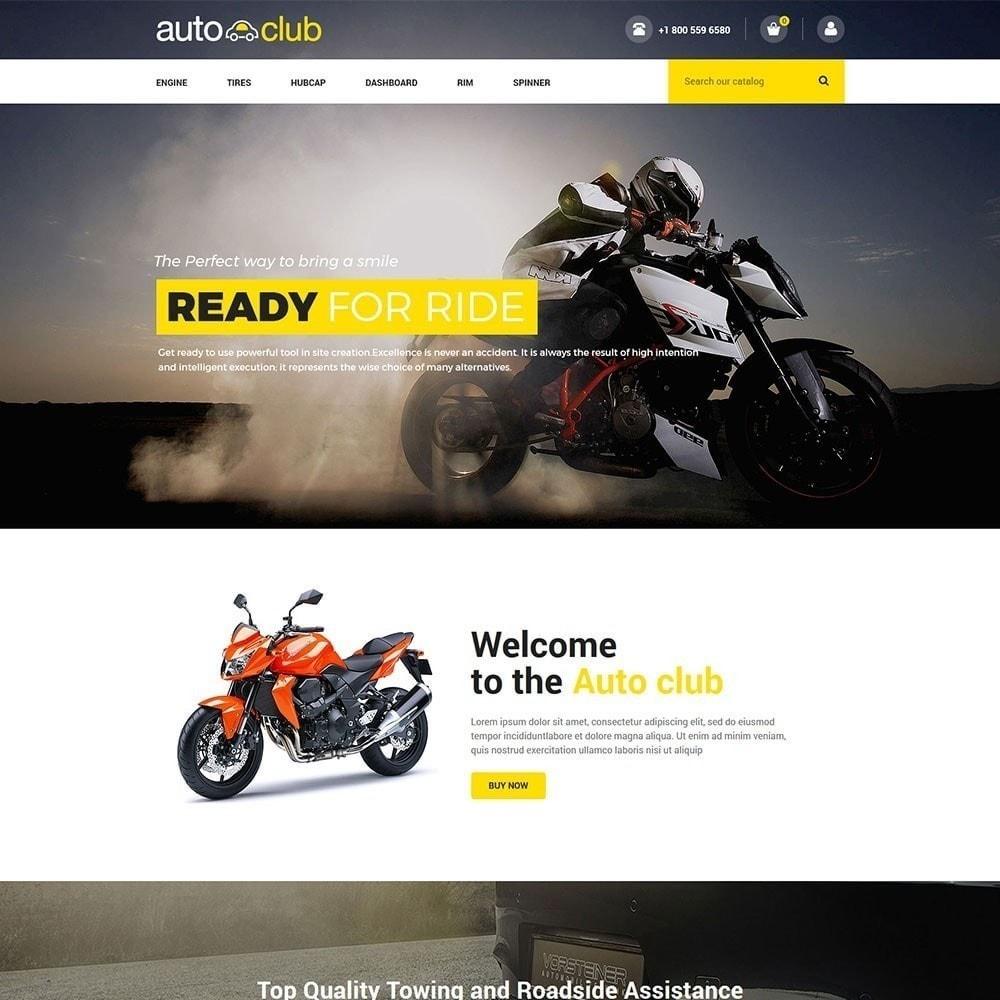 theme - Auto & Moto - Pièce auto - Magasin d'outils - 2