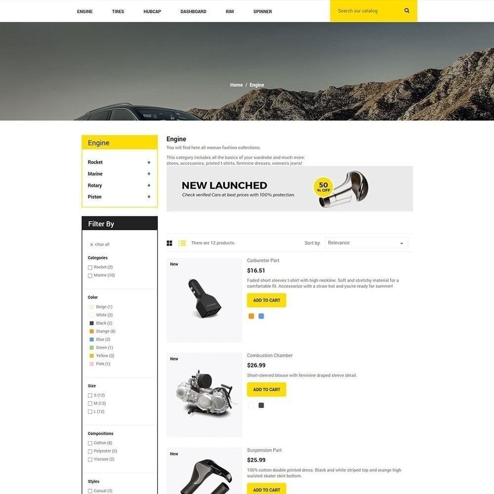 theme - Auto's & Motoren - Auto-onderdeel - gereedschapswinkel - 5