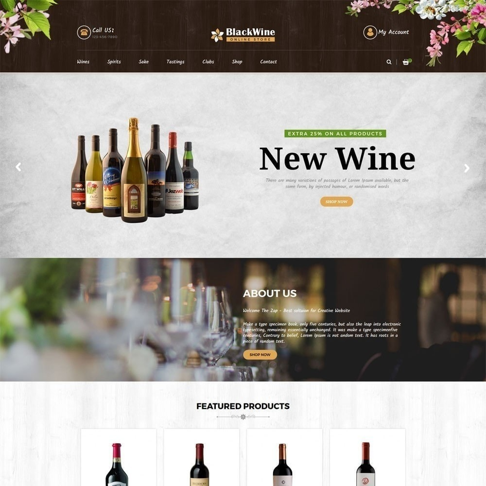 theme - Napoje & Wyroby tytoniowe - Sklepy z winami - 3