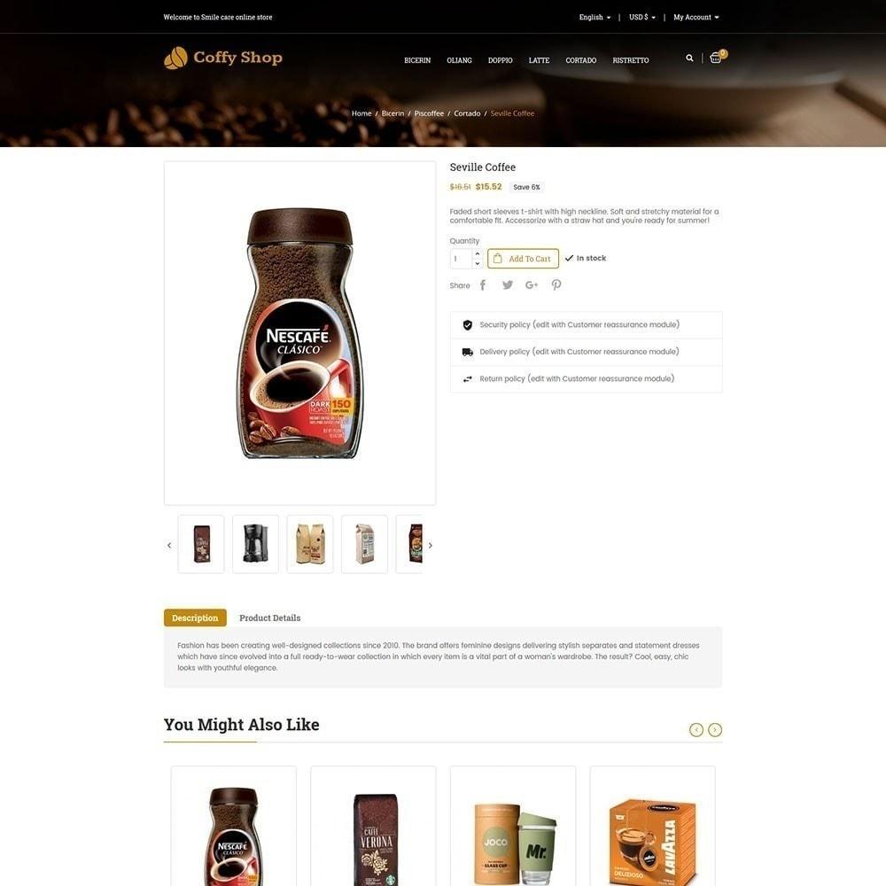 theme - Żywność & Restauracje - Sklep z kawą - 6