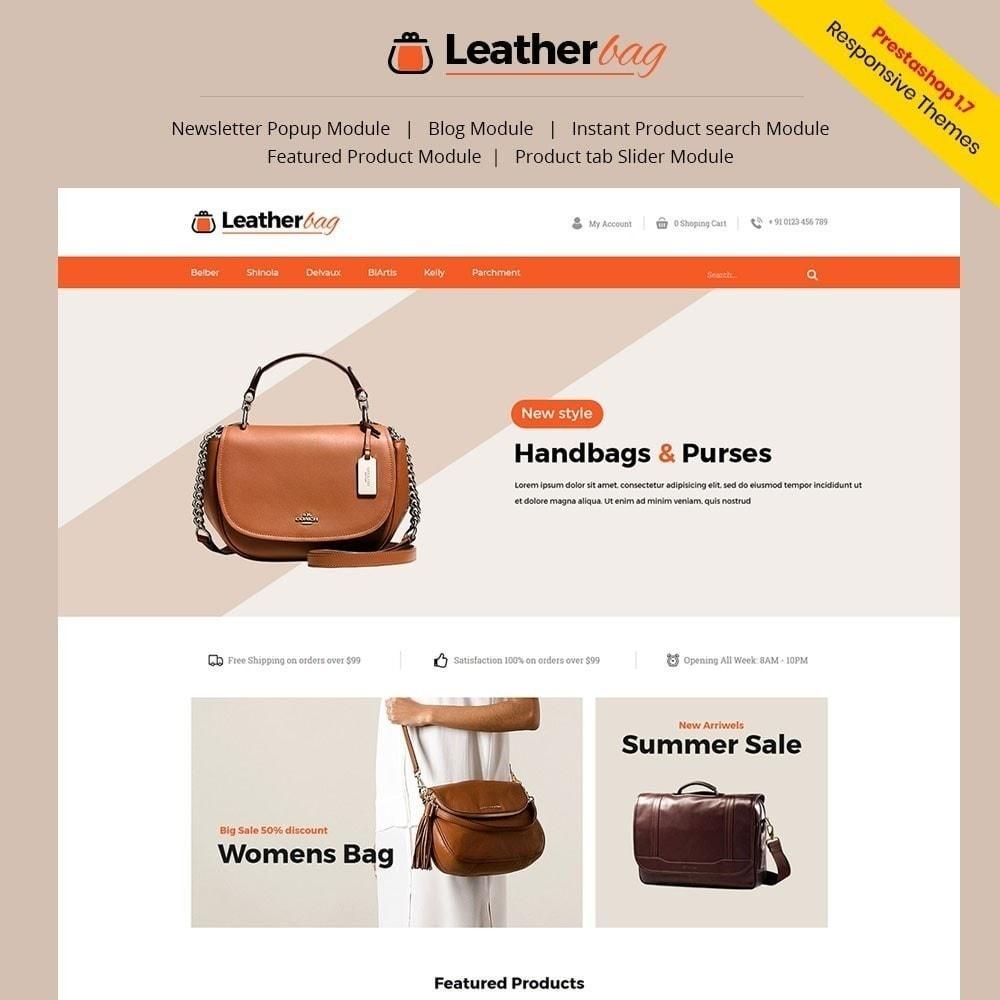 theme - Moda & Calçados - Loja de bolsas de couro - 1