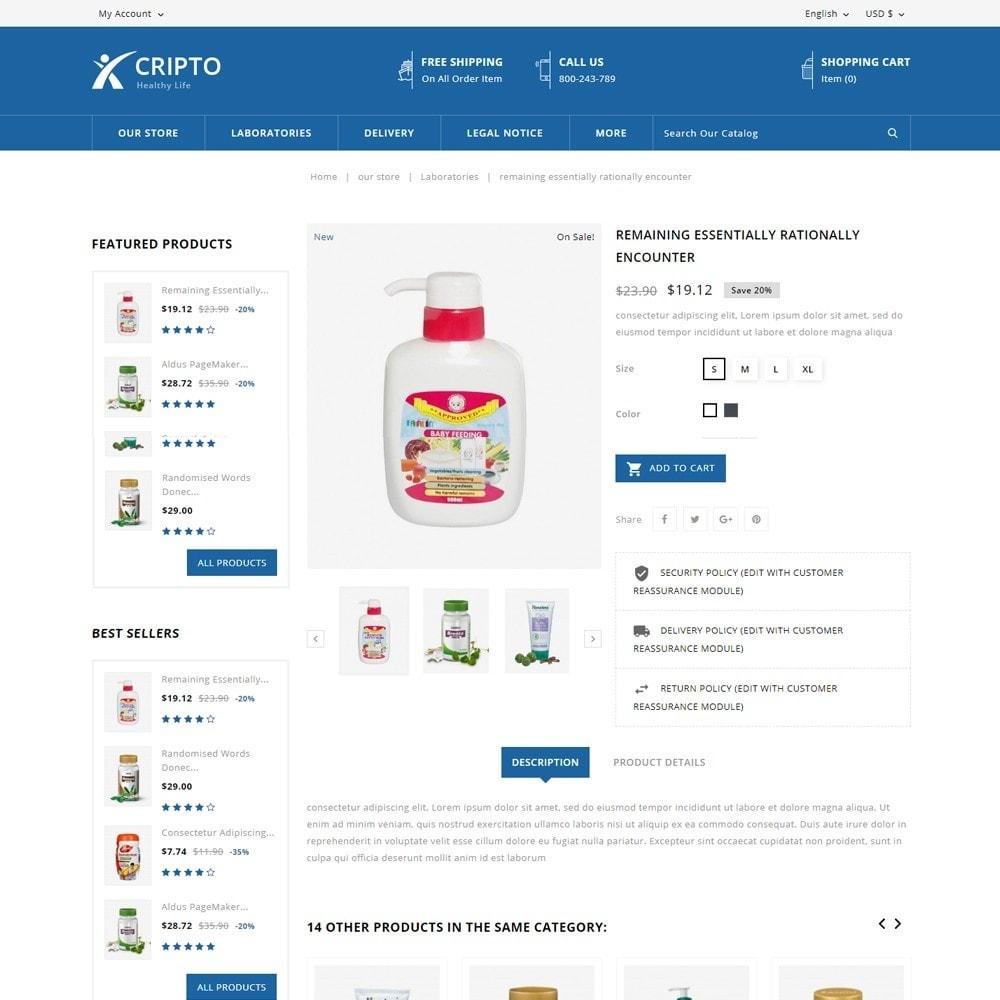 theme - Santé & Beauté - Cripto - Mega Medicine Store - 6