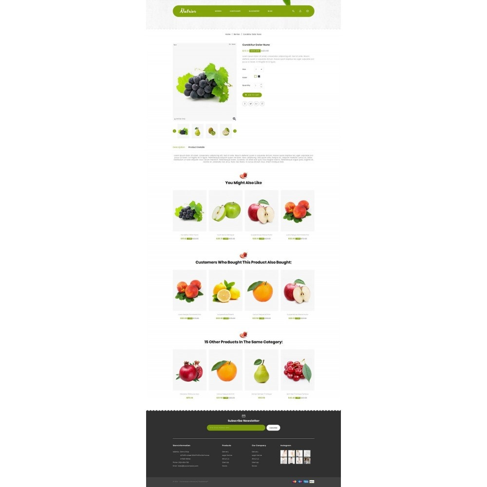 theme - Food & Restaurant - Nutrior - Fruits Store - 4