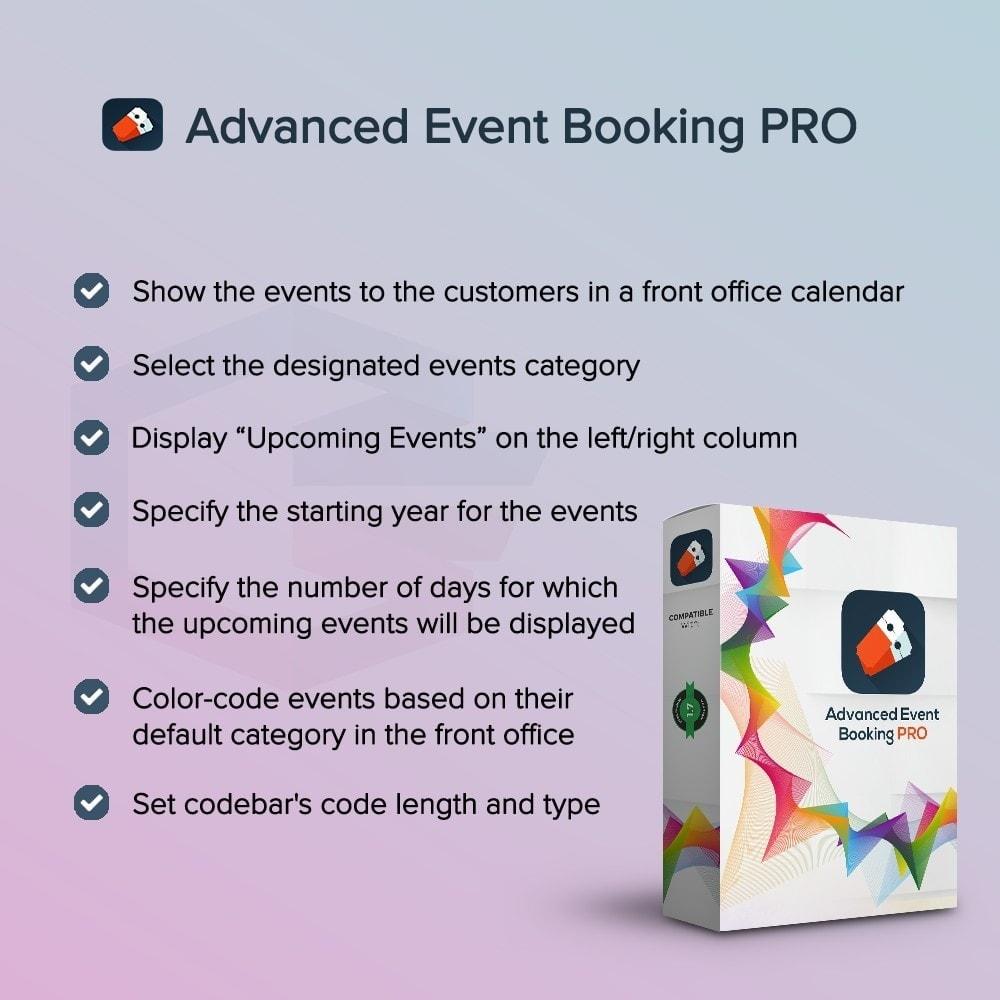 module - Prenotazioni & Noleggi - Prenotazione avanzata degli eventi PRO - 1