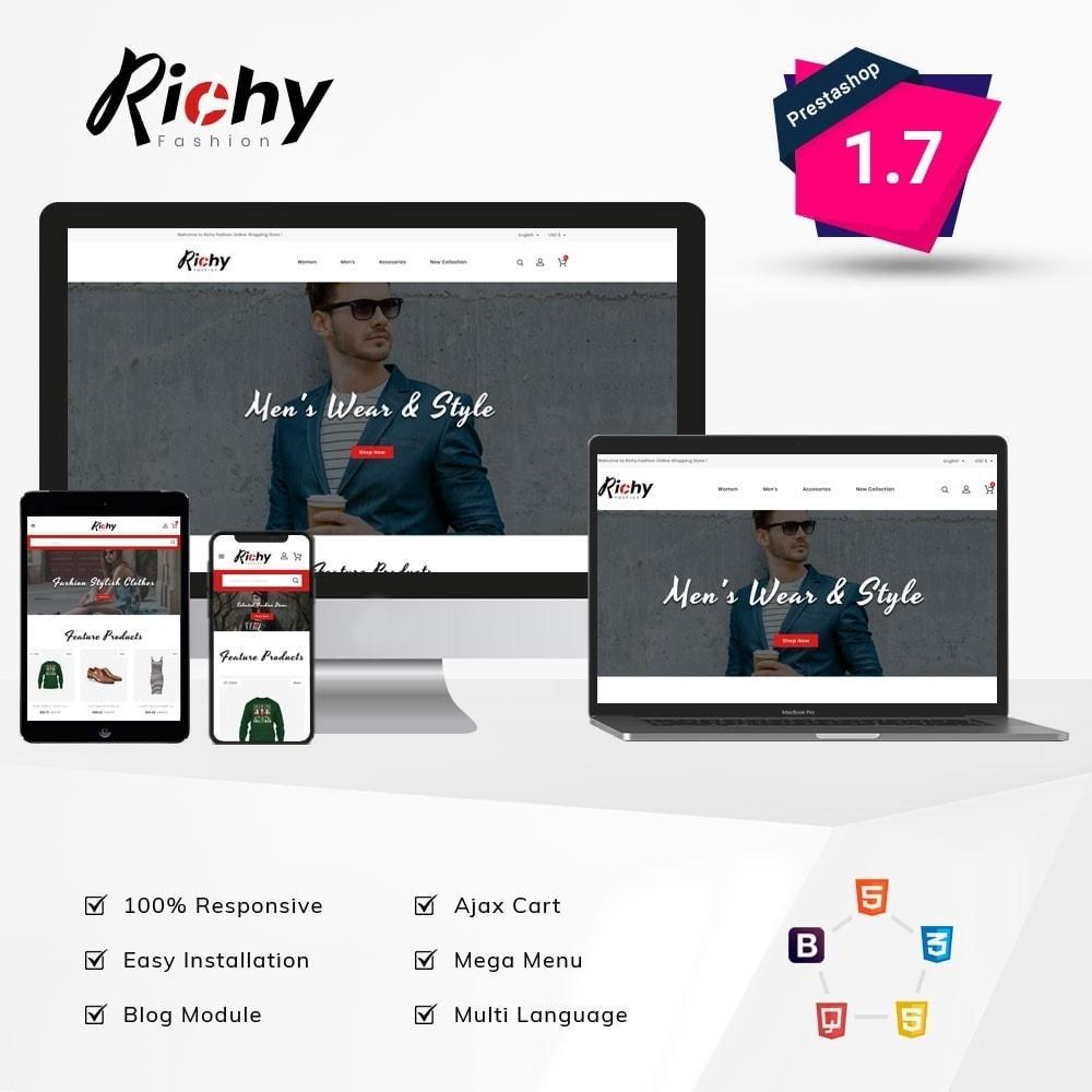 theme - Fashion & Shoes - Richy Fashion Store - 1