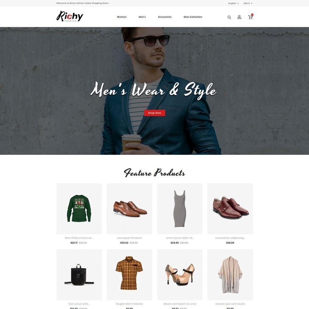 theme - Fashion & Shoes - Richy Fashion Store - 2