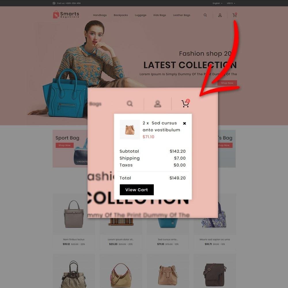 theme - Fashion & Shoes - Smart Bag Store - 8