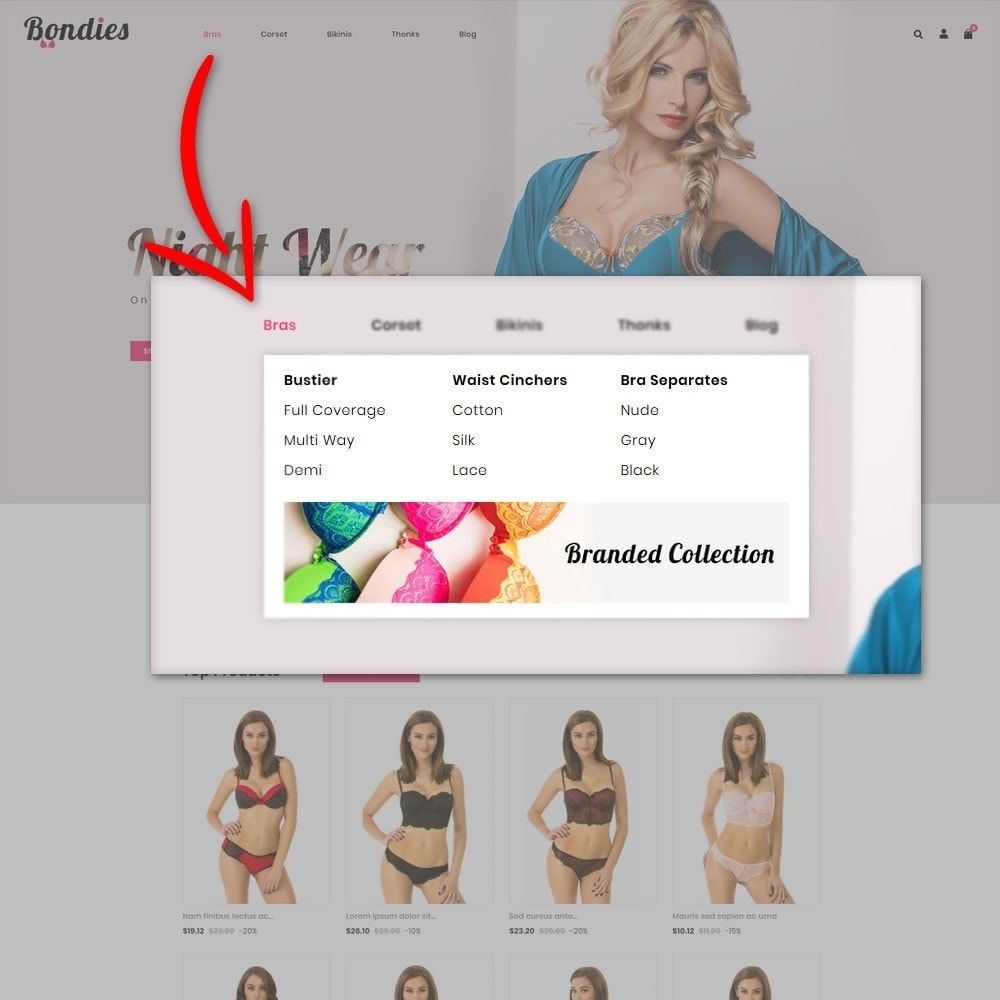 theme - Lingerie & Adult - Bondies Lingerie Store - 6