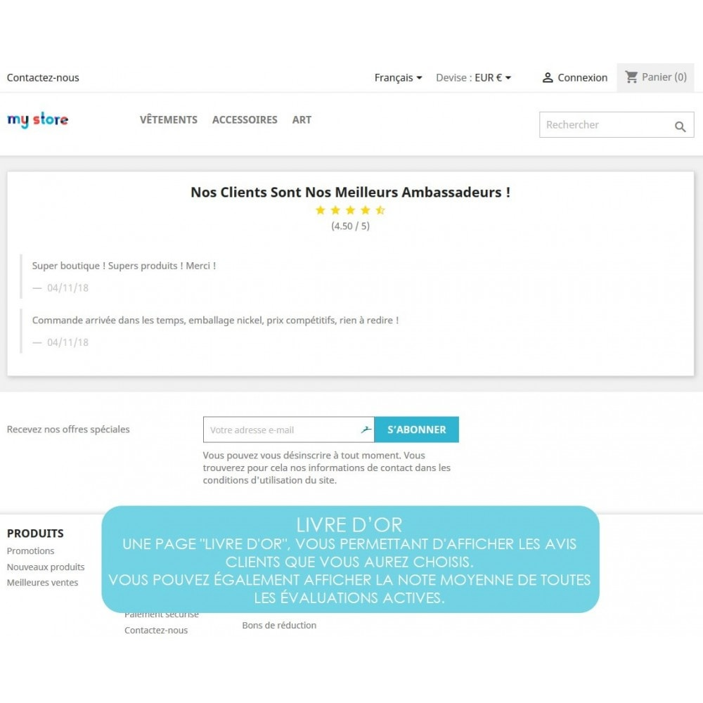 module - Avis clients - Rich Feedback : avis et satisfaction clients - 7