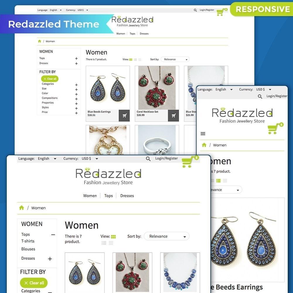 theme - Jewelry & Accessories - Redazzled Fashion Jewelry Store - 2