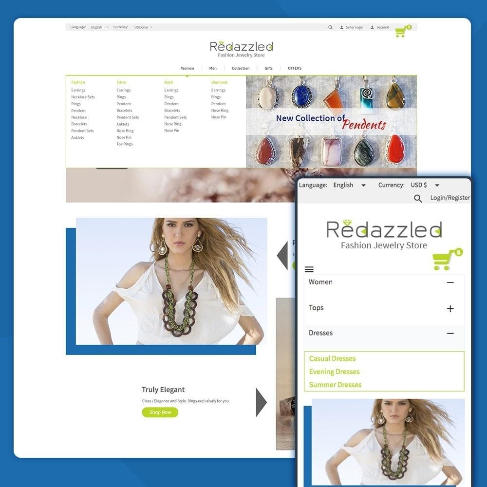 theme - Jewelry & Accessories - Redazzled Fashion Jewelry Store - 4