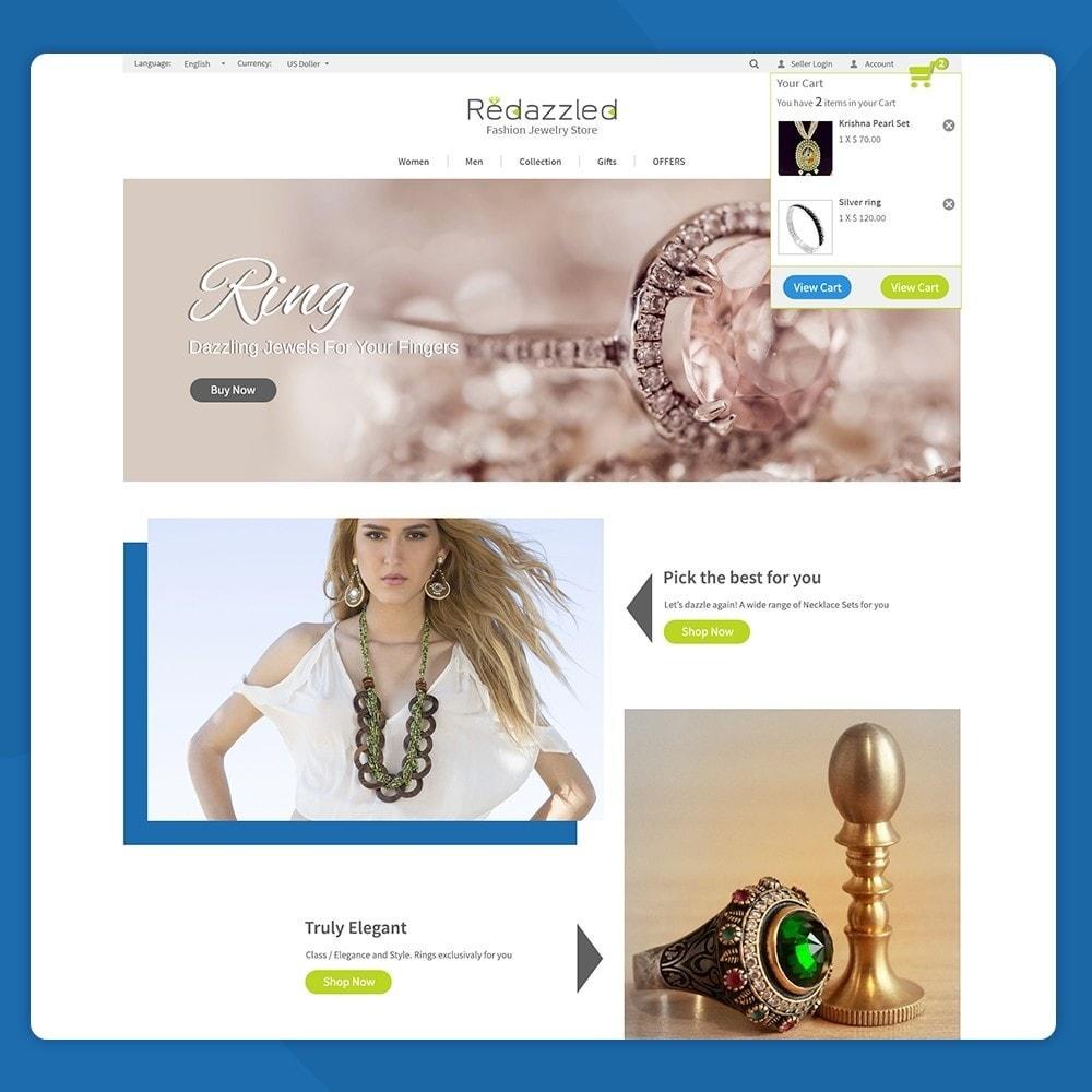 theme - Jewelry & Accessories - Redazzled Fashion Jewelry Store - 5