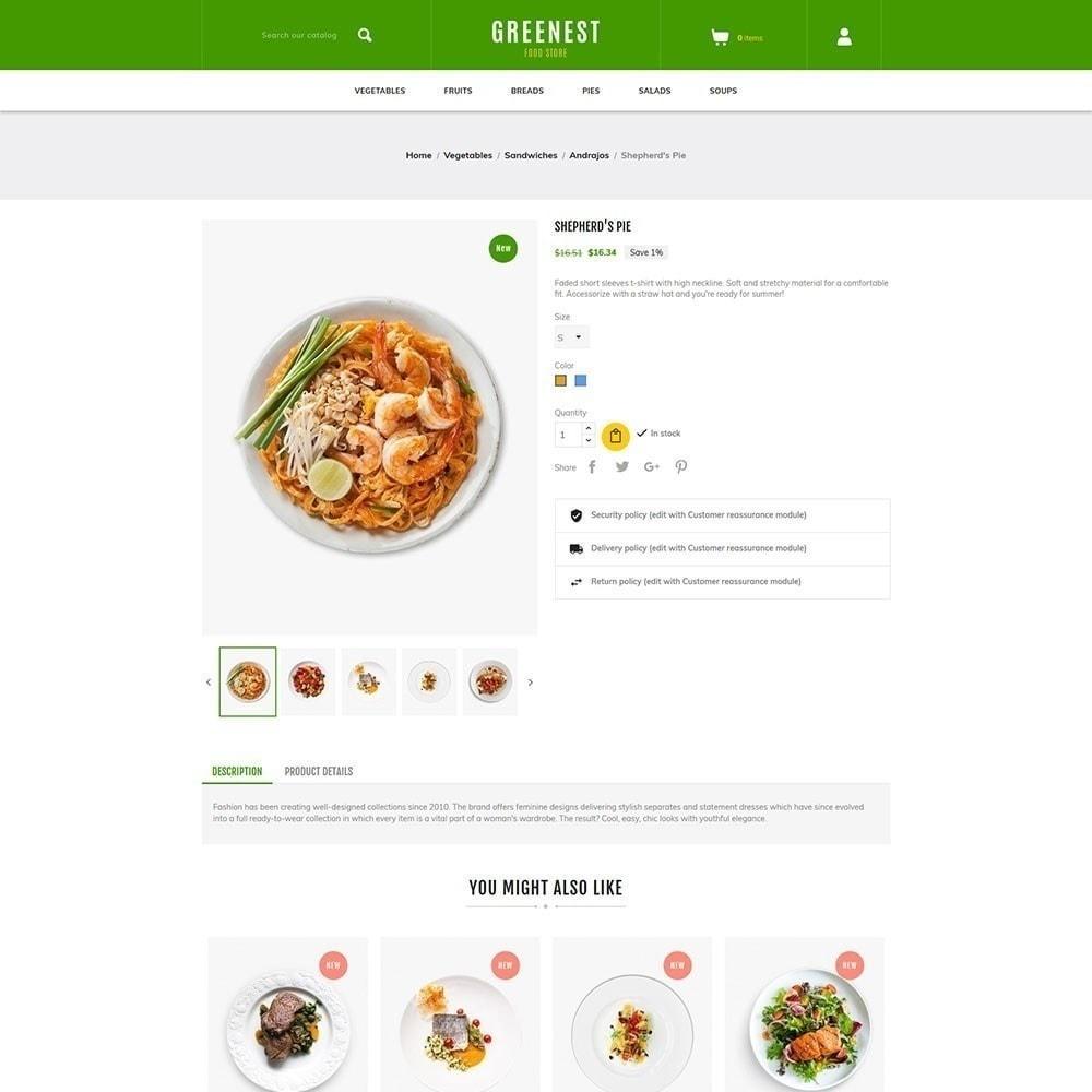 theme - Eten & Restaurant - Greenest - Food Store - 4