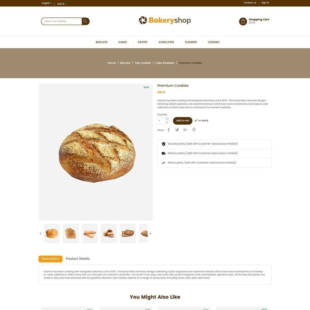 theme - Alimentation & Restauration - Magasin d'alimentation de boulangerie - 5