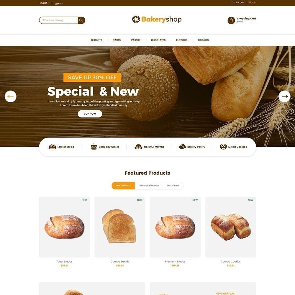 theme - Продовольствие и рестораны - Хлебобулочные изделия - 3