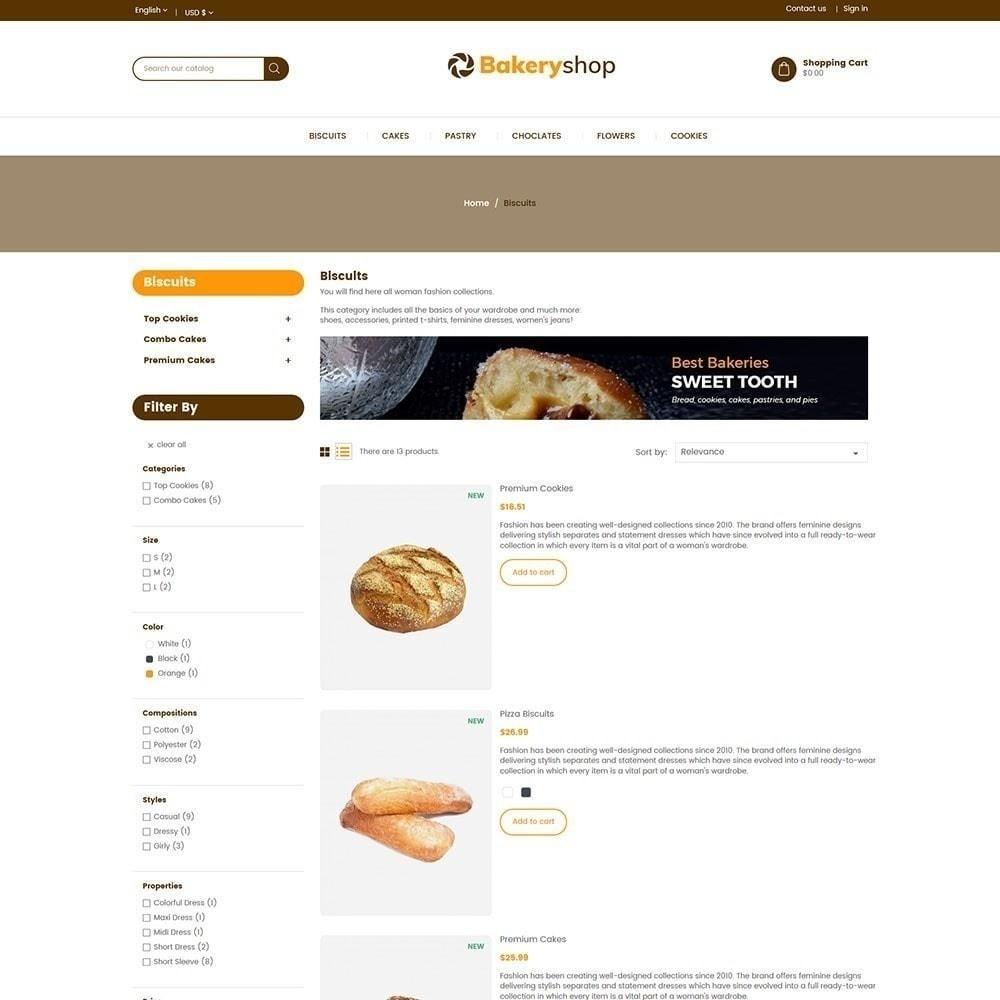 theme - Продовольствие и рестораны - Хлебобулочные изделия - 5