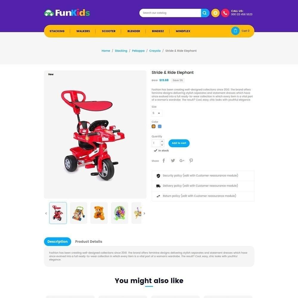 theme - Crianças & Brinquedos - Crianças Divertidas - Loja de Brinquedos - 5