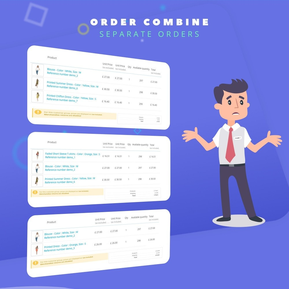 module - Order Management - Fast Combine Order / Invoice - 6